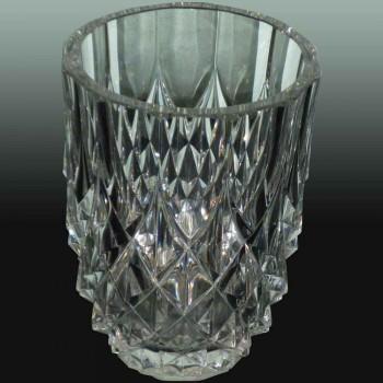Val Saint Lambert crystal vase 1920