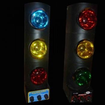 jeux de lumières en couleur pour soirée