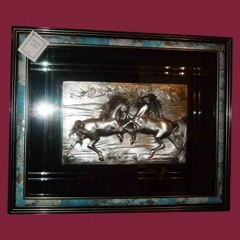 Tableau en bas relief Vintage