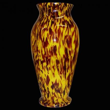 20e eeuwse Clichy opaline vaas