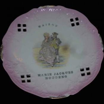 Assiette en porcelaine Petre Baudour