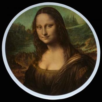 """Assiette en porcelaine Allemande """" Mona Liza """""""