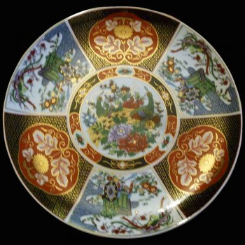 Imari China Plate