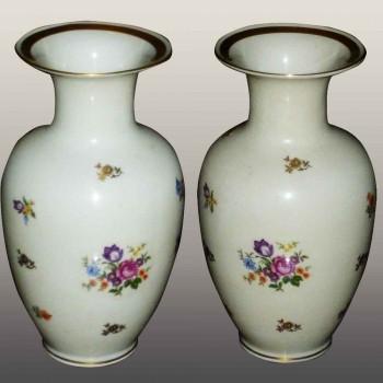 paire de vase en porcelaine république démocratique Allemande