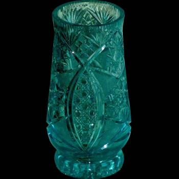 vase cristal américain brillant 1925/1930
