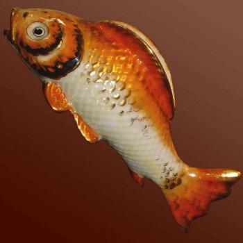 porcelaine de Limoges poisson art déco 1930