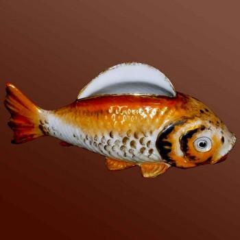 Limoges porcelain fish art deco 1930