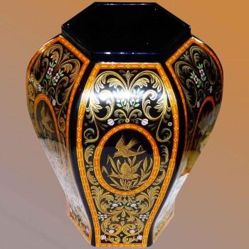 Vase céramique décor exclusif Italie