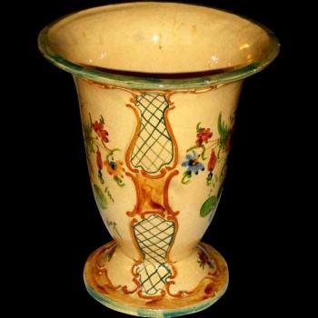 Lille earthenware slip vase