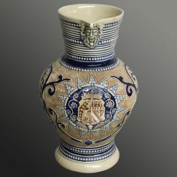 Stoneware pitcher Germany 20th century