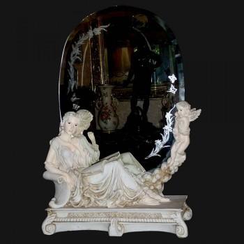contemporary antique mirror