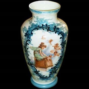 Vase opaline 1900